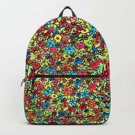 Flower doodles Backpack
