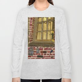 bird cage by the window Long Sleeve T-shirt