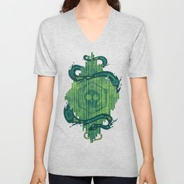 Green is the Color of Death Unisex V-Neck