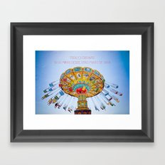 Punto de Vista Framed Art Print
