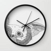 gizmo Wall Clocks featuring Gizmo / Mogwai. by Bundles of Film