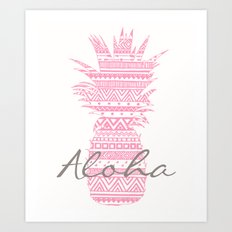 Pink Paradise 2  Art Print