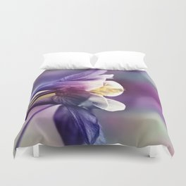 Columbine Flower 279 Duvet Cover
