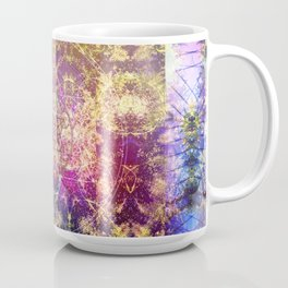 Fractalic Pineal Metatron | Foundant Dusa | Melting Soul Coffee Mug
