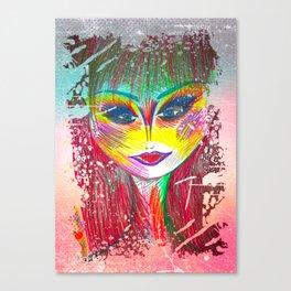 I Am Just A Vintage Soul Canvas Print
