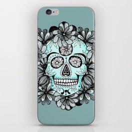 Blue Sugar iPhone Skin