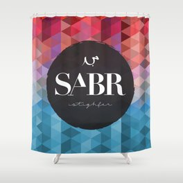 SABR Shower Curtain