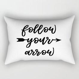 Follow Your Arrow Rectangular Pillow