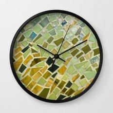 Bright n Sunshiny Day Mosaic Wall Clock