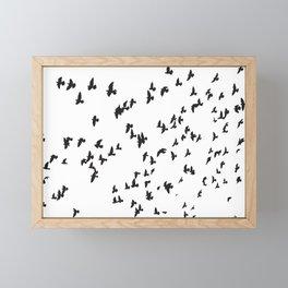 Happy Birds Framed Mini Art Print