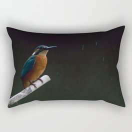 Eurasian Kingfisher (Alcedo atthis) Rectangular Pillow