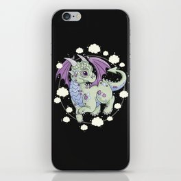 Dragon in the Clouds iPhone Skin