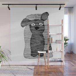 Cute puppy. Wall Mural