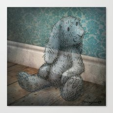 A Child's Bunny from Barely There Canvas Print