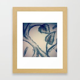 Old Sketch Framed Art Print