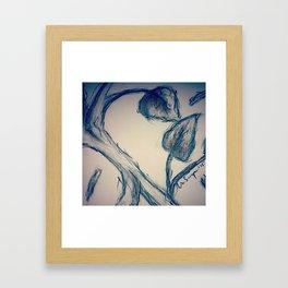 Old Sketch Framed Art Print
