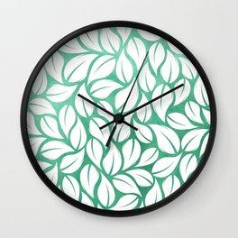 falling leaves XV Wall Clock