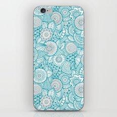 BOHO TURQUOISE PATTERN iPhone & iPod Skin
