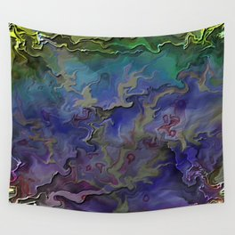 Silken Shards Wall Tapestry