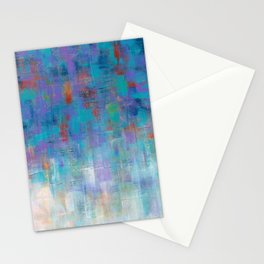 Cool Rain  Stationery Cards