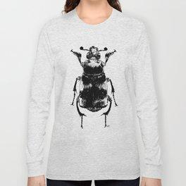Nicrophorus vespillo by Anna Helena Szymborska Long Sleeve T-shirt