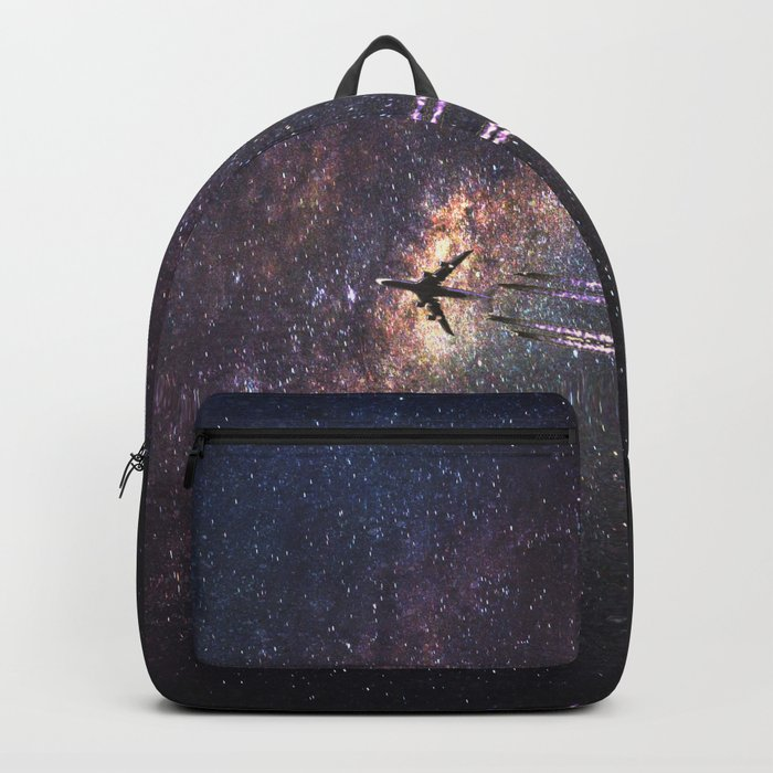 intergalactic space travel Backpack
