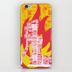 Incendiary Material iPhone & iPod Skin