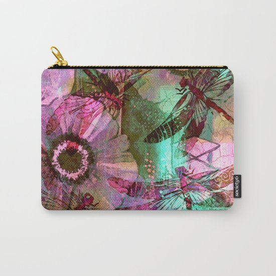 Dragonflies in a Dream Carry-All Pouch