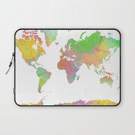 World Map - 8 Laptop Sleeve