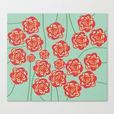 Floral Bliss Canvas Print