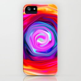 Rose abstract iPhone Case