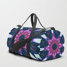 Dark Violet Mandala Duffle Bag