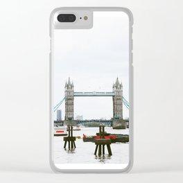 London Bridge (Ain't Falling Down) Clear iPhone Case
