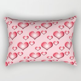 herzen collage 2 Rectangular Pillow