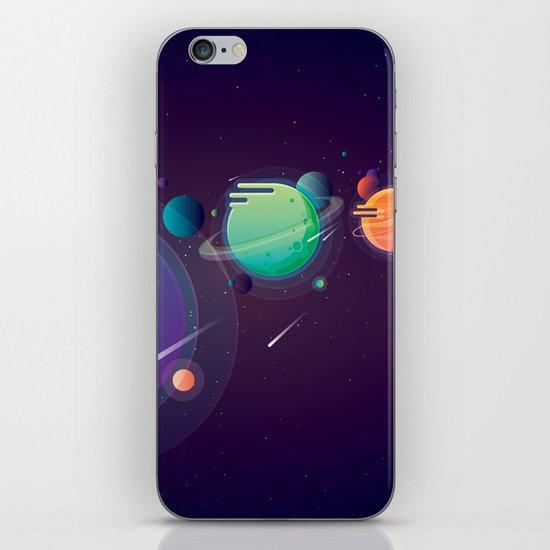 Alien Planets iPhone & iPod Skin