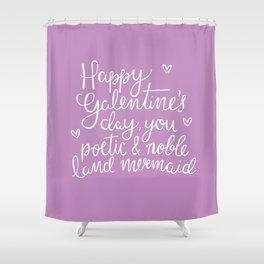 Galentine's Day Shower Curtain