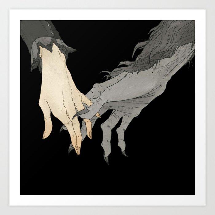Monster Lover II Kunstdrucke