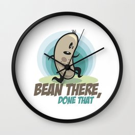 Bean there, done that Wall Clock