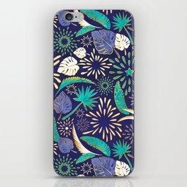 Tropical fireworks iPhone Skin