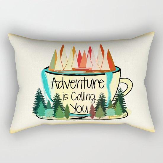 Adventure is Calling You Rectangular Pillow