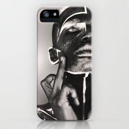 bodypaint f*ck the world iPhone Case