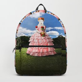 Semolina Sheep on Her Way to the Ball Backpack