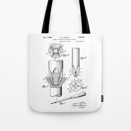 Phillips Screwdriver: Henry F. Phillips Screwdriver Patent Tote Bag