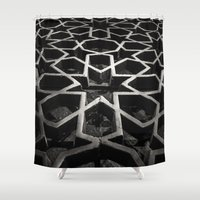 architect Shower Curtains featuring Moroccan Architect by sohailchouhan