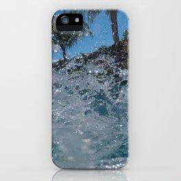 water splash iPhone Case
