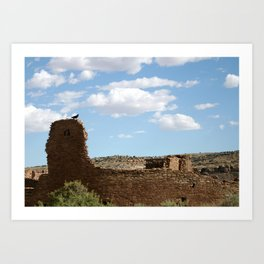 Chaco Canyon Art Print