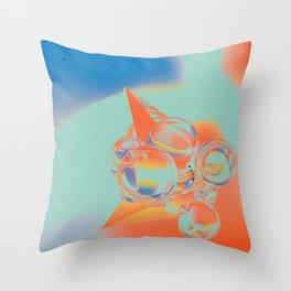 mc-N; Black Dot. Throw Pillow