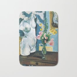 The Plaster Torso - Henri Matisse - Exhibition Poster Bath Mat