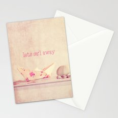 lets sail away Stationery Cards
