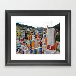 Open 24 Hours Framed Art Print